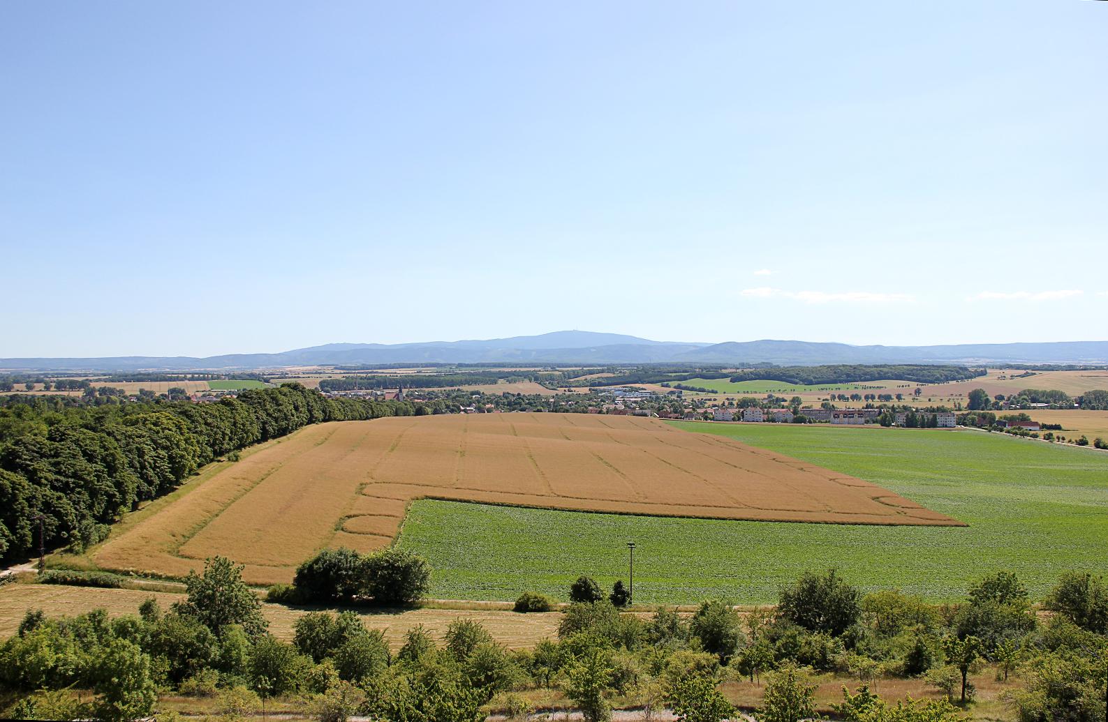 Die Landschaft von Fallstein & Huy