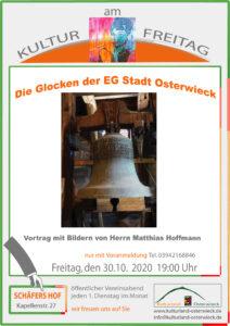 Kultur am Freitag: Glockenvortrag von und mit Matthias Hoffmann
